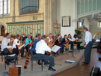 Cambridge Guitar Orchestra in Portsmouth