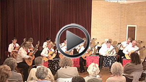 Printed Ensemble Music and Video of hago guitar orchestra