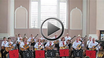 Danzon No 2 - Arturo Marquez - performed by Hampshire Guitar Orchestra