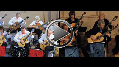 When The Guitar Sings - Hampshire Guitar Orchestra play Guy Bergeron