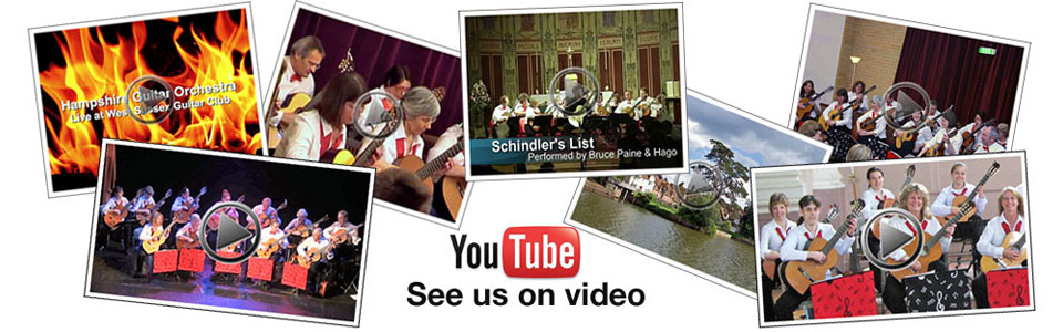 View Hampshire Guitar Orchestra videos on YouTube.