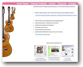 Derek Hasted's website